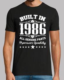 costruito nel 1986 tutte le parti origi