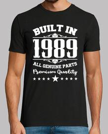 costruito nel 1989 tutte le parti origi