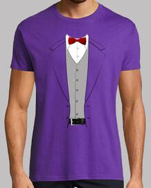 costume cravate papillon rouge