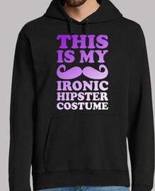 costume de hipster ironique