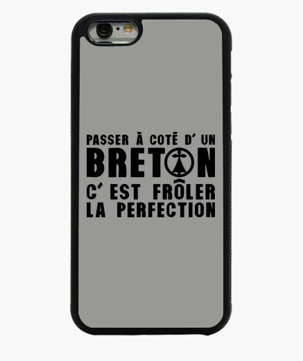 Cover iPhone 6 / 6S coté breton passante per prefection fröler