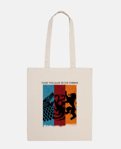 cotton bags game of thrones - start the game.