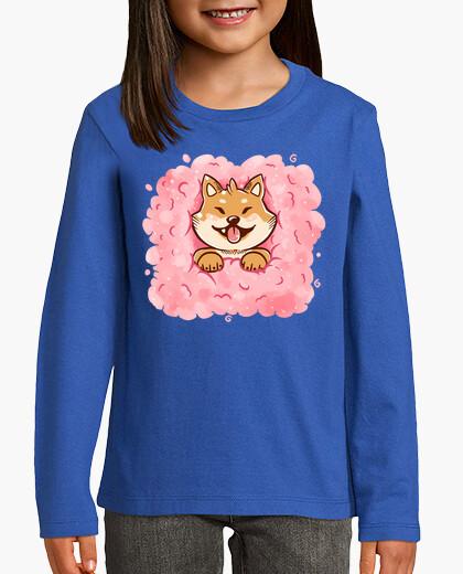 Cotton Candy Shiba Inu kids clothes