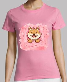 Cotton Candy Shiba Inu Womans
