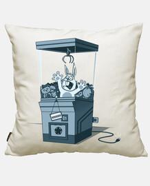 Cotton cushion cover, white