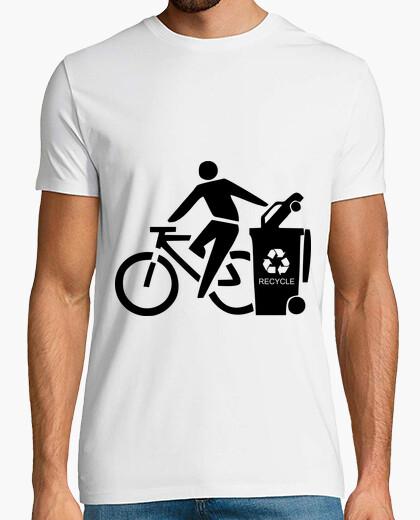 Tee-shirt cotxe poubelle noir