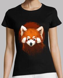 coucher de soleil panda rouge w