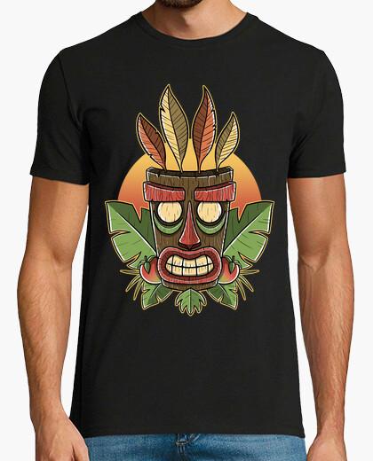 Tee-shirt coucher du soleil tiki