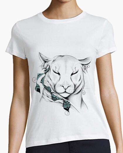 T-shirt cougar poetico