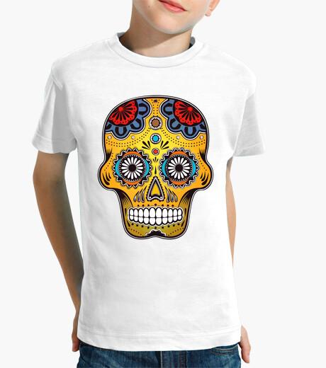 Vêtements enfant couleur crâne mexique