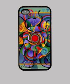 couleurs de cas de mandala