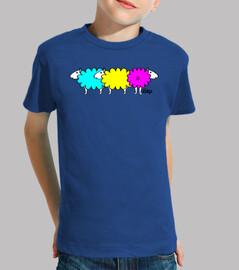 couleurs de moutons