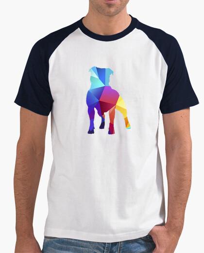 Tee-shirt couleurs staffy