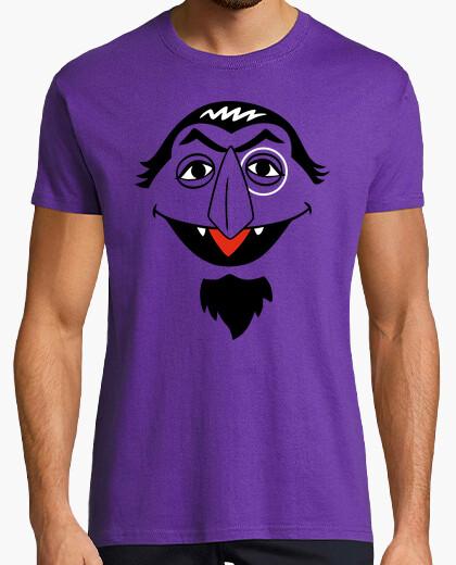 e1474817 Count von Count (Sesame Street) T-shirt - 1276851 | Tostadora.co.uk