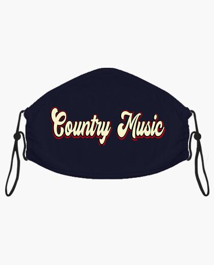 Mascarilla Country Music Nashville...