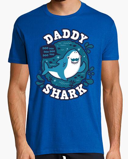 Tee-shirt coup de requin papa