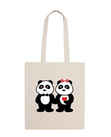 Couple de panda