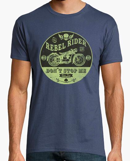 Tee-shirt coureur rebelle ne me arrête pas
