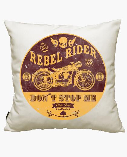 Housse de coussin coureur rebelle ne me arrête pas