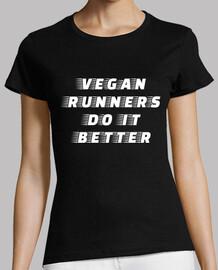 coureurs végétaliens font mieux