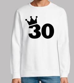 couronne 30e anniversaire