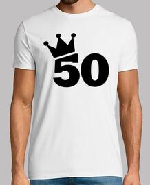 couronne 50e anniversaire