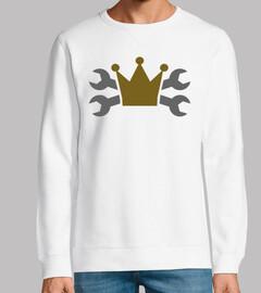 couronne de clé à vis croisée