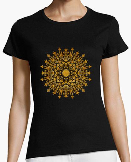 Tee-shirt couronne de liberté mandala