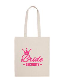couronne de mariée de sécurité