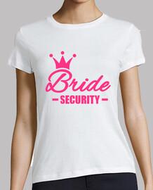 couronne de sécurité de mariée