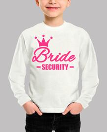 couronne de sécurité mariée