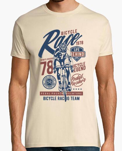 Tee-shirt course de vélo