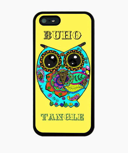 Coque iPhone couverture buho.tangle