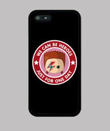 couverture de bowie heores iphone 5