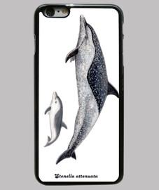 couverture de dauphin tacheté pantropical iphone 6 plus