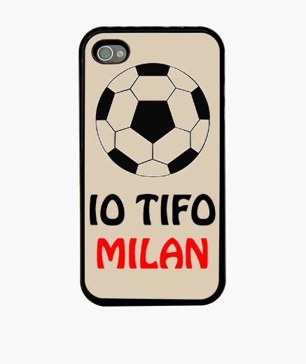 Cover iPhone 4/4S tifo milan