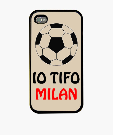Cover iPhone 4/4S tifo milan