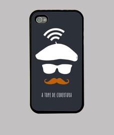 Cover iPhone 4, nera