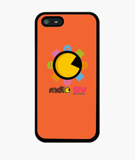Cover iPhone 5, arancio