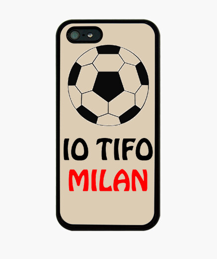 Cover iPhone 5 tifo milan