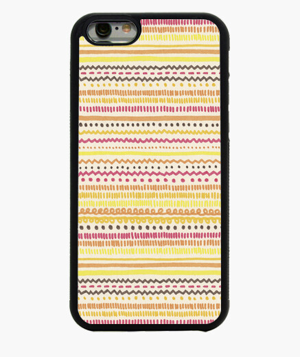 Cover iPhone 6 / 6S 1. estate pattern