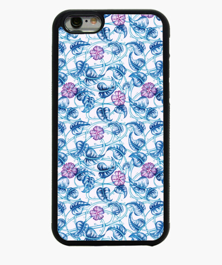 Cover iPhone 6 / 6S 1. morning glory floreale pattern