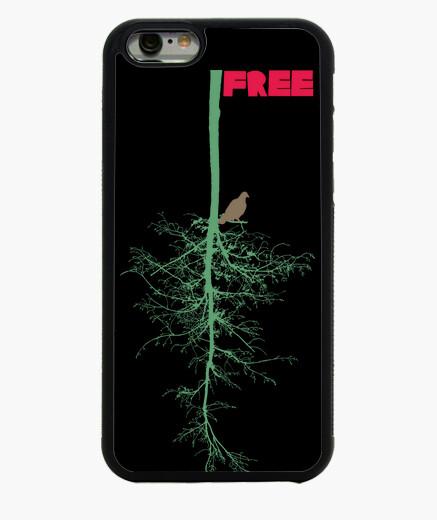 Cover iPhone 6 / 6S arbol uccello libero