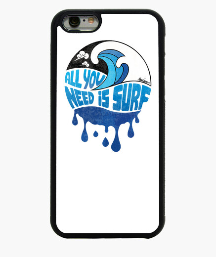 Cover iPhone 6 / 6S iPhone 6/6S (cover) - ALL YOU NEED IS SURF