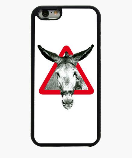 Cover iPhone 6 / 6S l'asino è un asino per testardo