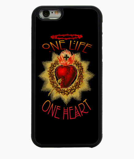 Cover iPhone 6 / 6S ONE LIFE, ONE HEART