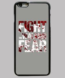 cover iphone 6 più fight il walking paura