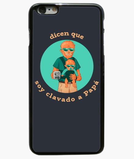Cover iPhone 6 Plus  / 6S Plus papà lupo...
