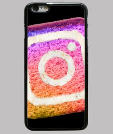 Cover iPhone 6 plus, nero