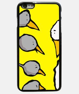 cover iphone 6 plus, nero / elpatitofeo